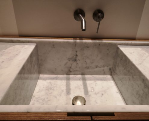 lavabo mármol urbanizacion